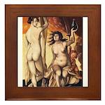 erotica Framed Tile