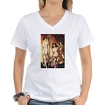 erotica Women's V-Neck T-Shirt