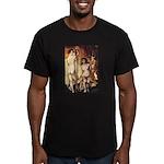 erotica Men's Fitted T-Shirt (dark)