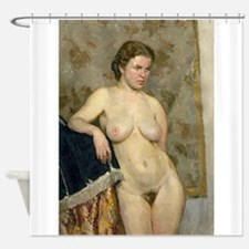 18.png Shower Curtain