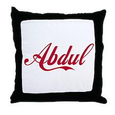 Abdul.png Throw Pillow