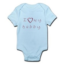 I love my hubby Infant Bodysuit