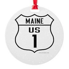 US Route 1 - Maine - Ornament