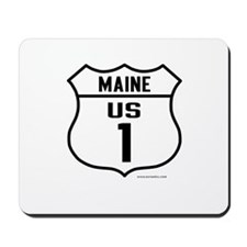 US Route 1 - Maine - Mousepad