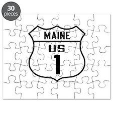 US Route 1 - Maine - Puzzle