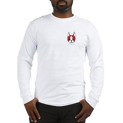 Boston Terrier Devil Dog Long Sleeve T-Shirt