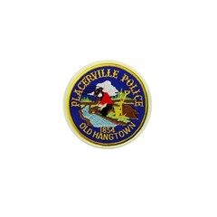 Placerville Police Mini Button