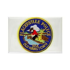 Placerville Police Rectangle Magnet