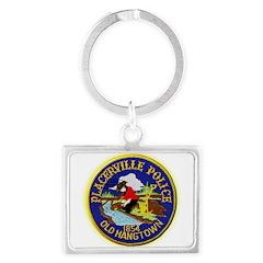 Placerville Police Landscape Keychain