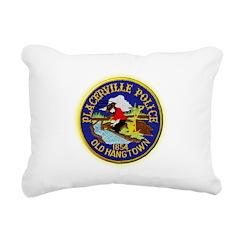 Placerville Police Rectangular Canvas Pillow