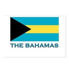 The Bahamas Flag Gear Postcards (Package of 8)