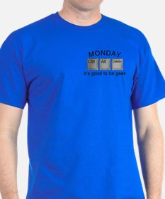 Monday Geek Computer Keys T-Shirt