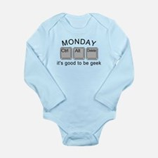 Monday Geek Computer Keys Onesie Romper Suit