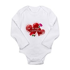 Be My Valentine Onesie Romper Suit
