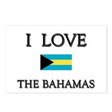 I Love The Bahamas Postcards (Package of 8)