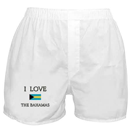 I Love The Bahamas Boxer Shorts
