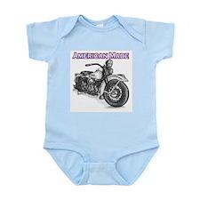 Harley Davidson Knucklehead 1947 right Infant Body
