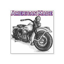 Harley Davidson Knucklehead 1947 right Square Stic