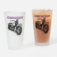 Harley Davidson Knucklehead 1947 right Drinking Gl