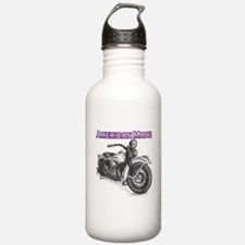 Harley Davidson Knucklehead 1947 right Water Bottle