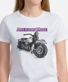 Harley Davidson Knucklehead 1947 right Women's T-S