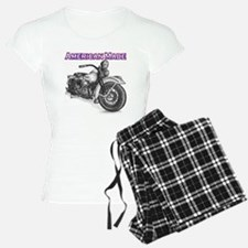 Harley Davidson Knucklehead 1947 right Pajamas