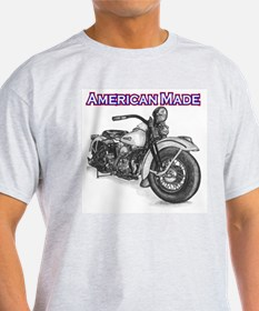 Harley Davidson Knucklehead 1947 right T-Shirt