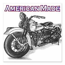 Harley Davidson Knucklehead 1947 left Square Car M