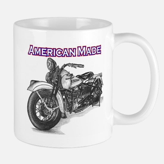 Harley Davidson Knucklehead 1947 left Mug