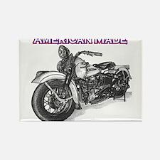 Harley Davidson Knucklehead 1947 left Rectangle Ma