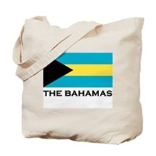 The Bahamas Flag Merchandise Tote Bag