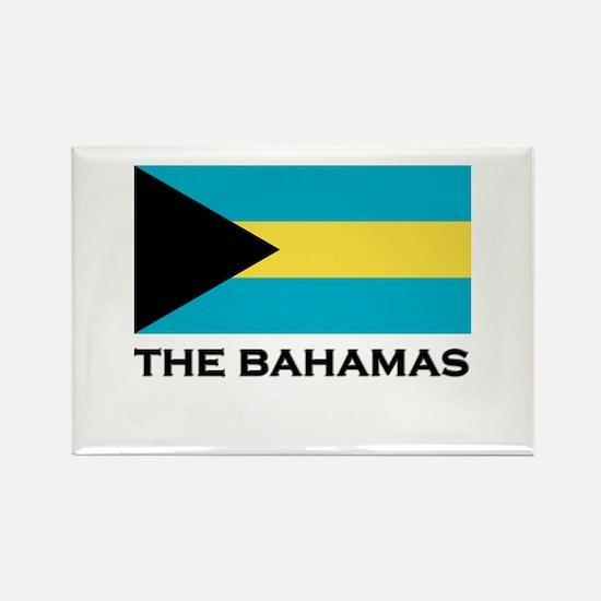 The Bahamas Flag Merchandise Rectangle Magnet