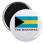 The Bahamas Flag Merchandise Magnet