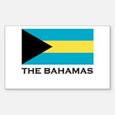 The Bahamas Flag Merchandise Rectangle Decal