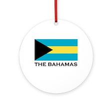The Bahamas Flag Merchandise Ornament (Round)