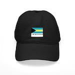 The Bahamas Flag Merchandise Black Cap
