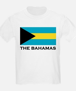The Bahamas Flag Merchandise Kids T-Shirt