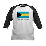 The Bahamas Flag Merchandise Kids Baseball Jersey