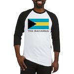 The Bahamas Flag Merchandise Baseball Jersey