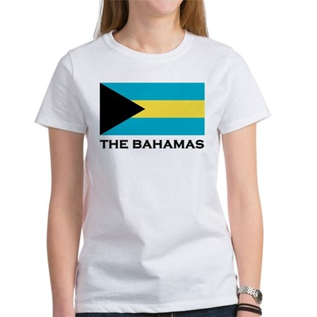 The Bahamas Flag Merchandise Women's T-Shirt
