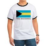 The Bahamas Flag Merchandise Ringer T