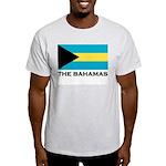 The Bahamas Flag Merchandise Ash Grey T-Shirt