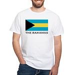 The Bahamas Flag Merchandise White T-Shirt