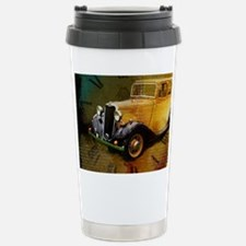 Classic Time Traveling Stainless Steel Travel Mug