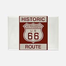 San Bernardino Route 66 Rectangle Magnet