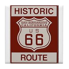 San Bernardino Route 66 Tile Coaster