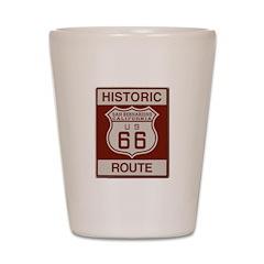 San Bernardino Route 66 Shot Glass