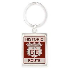 San Bernardino Route 66 Portrait Keychain