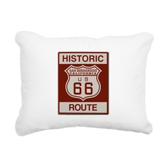 San Bernardino Route 66 Rectangular Canvas Pillow