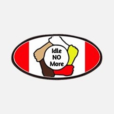Idle No More - Five Hands - Canadian Flag Patches